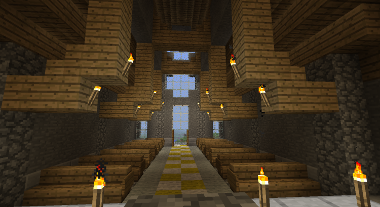 2nd Minecraft church 06