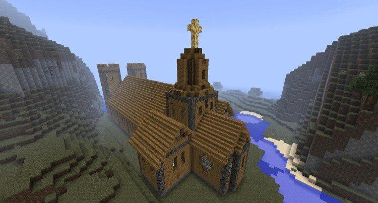 3rd Minecraft church 02