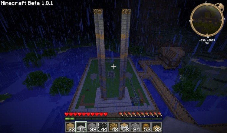 How to build a Minecraft church 04