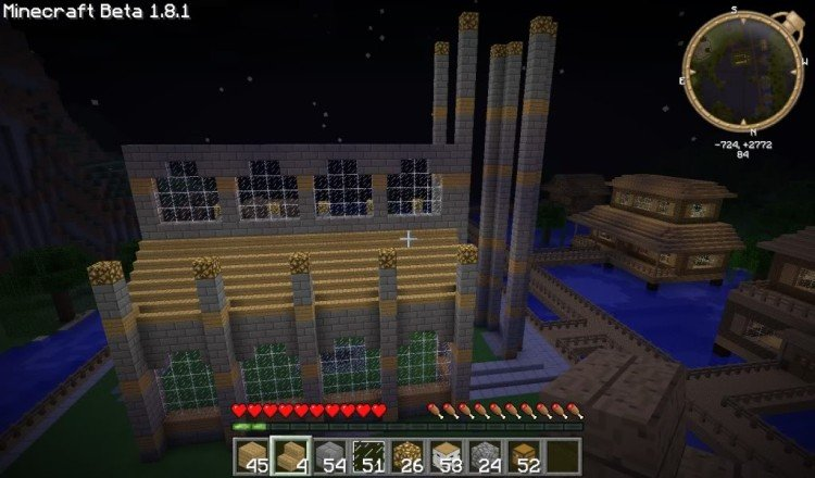 How to build a Minecraft church 10