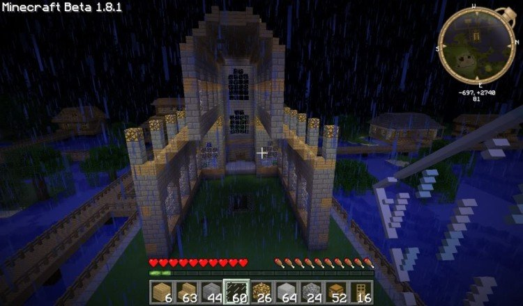 How to build a Minecraft church 15