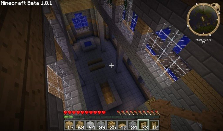 How to build a Minecraft church 18