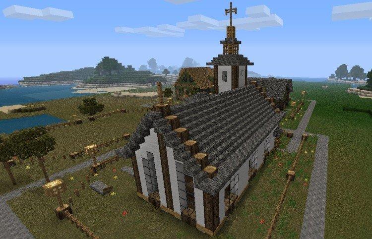 Minecraft church 1