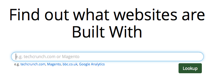 BuiltWith Lets You Peek Under the Hood