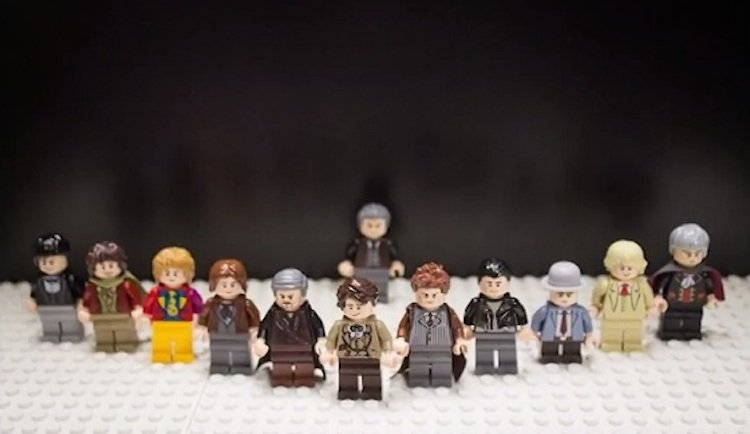 The Day of The Doctor in LEGO! [Video]