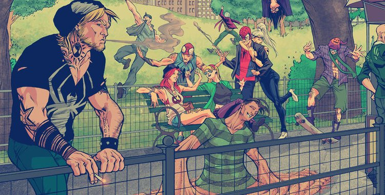 Comic Book Hipsters [Images]