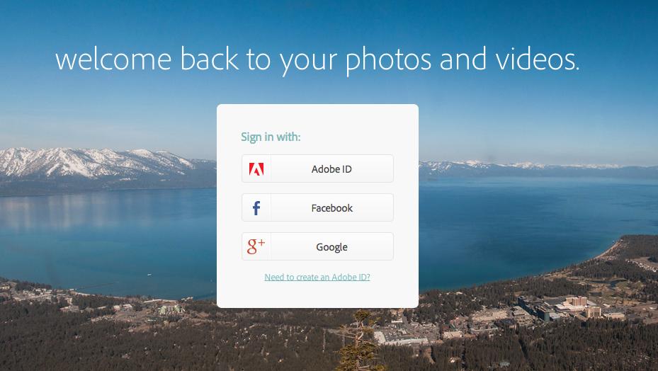 Adobe Revel: Simple Photo Storage and Editing