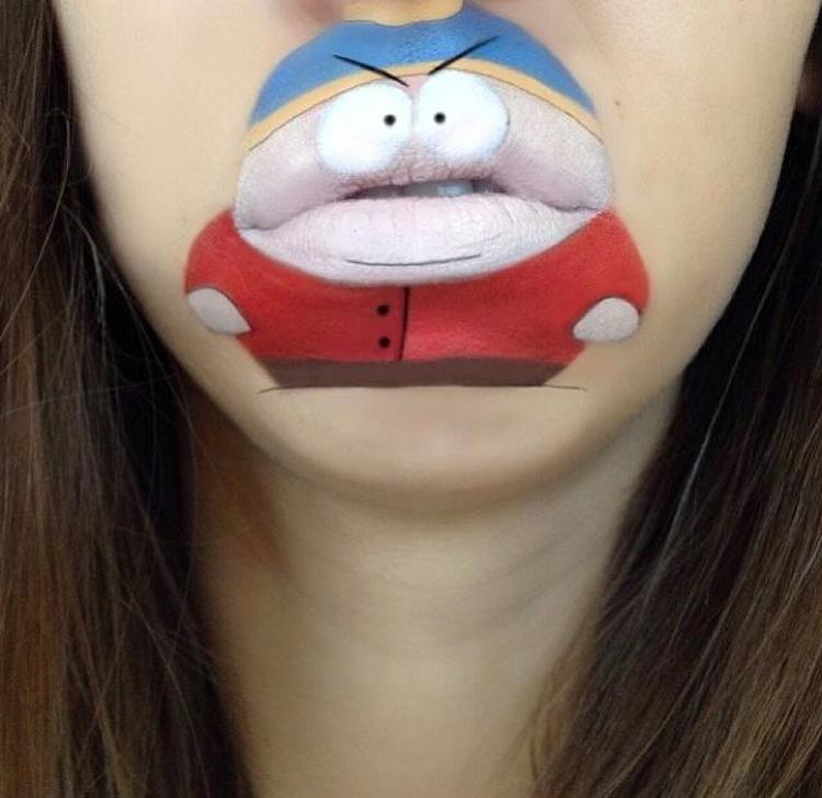 Laura Jenkinson Cartoon-Faces-with-Human-Mouths 06