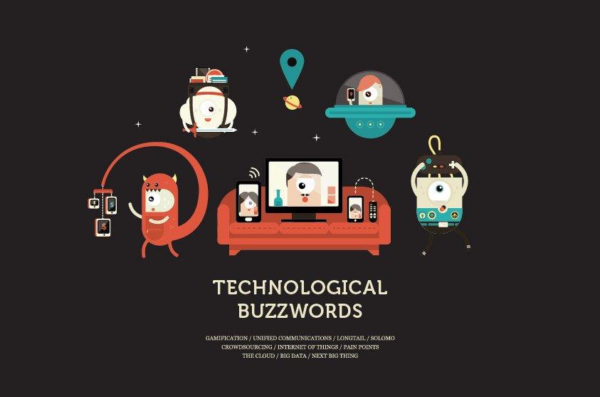 Creative Illustrations of Tech Buzzwords