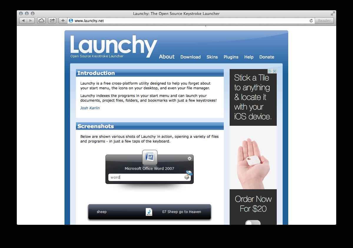Launchy — A Free Cross-Platform App Launcher - ChurchMag