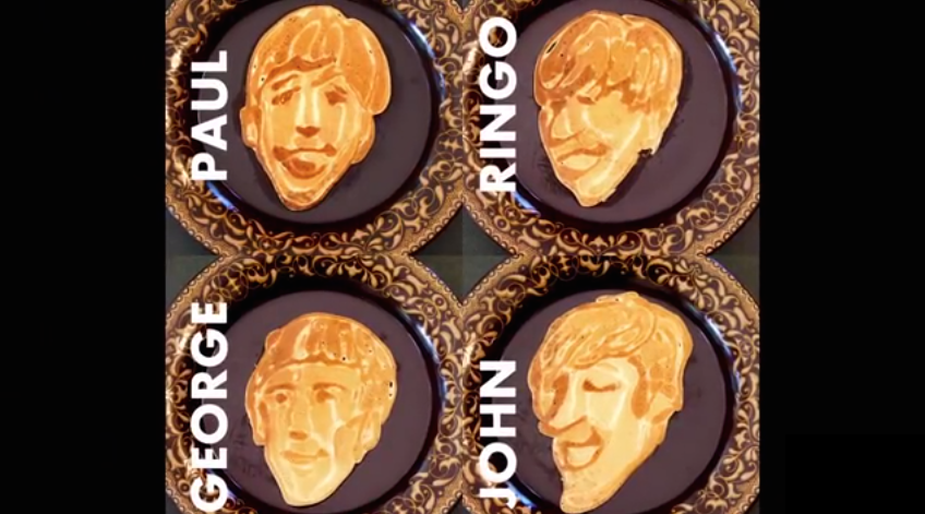 Beatles Pancakes [Video]