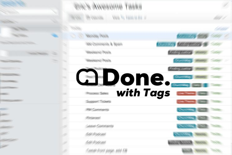To-Do List Tip: Using Tags