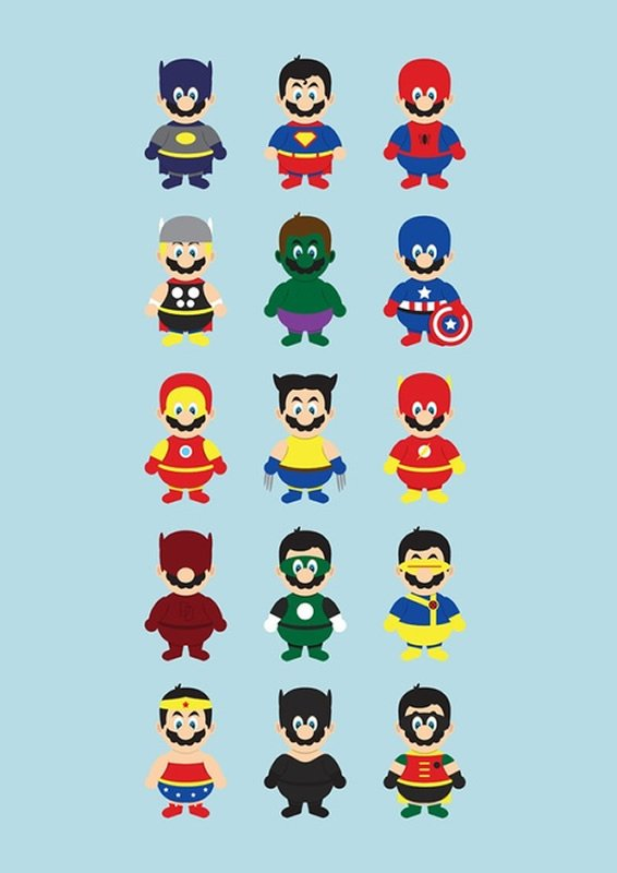 SuperMarios Super Heros