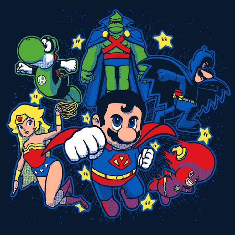 Super Mario Super Heros