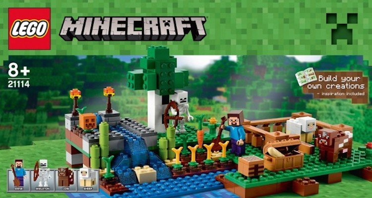 New LEGO Minecraft Kits!