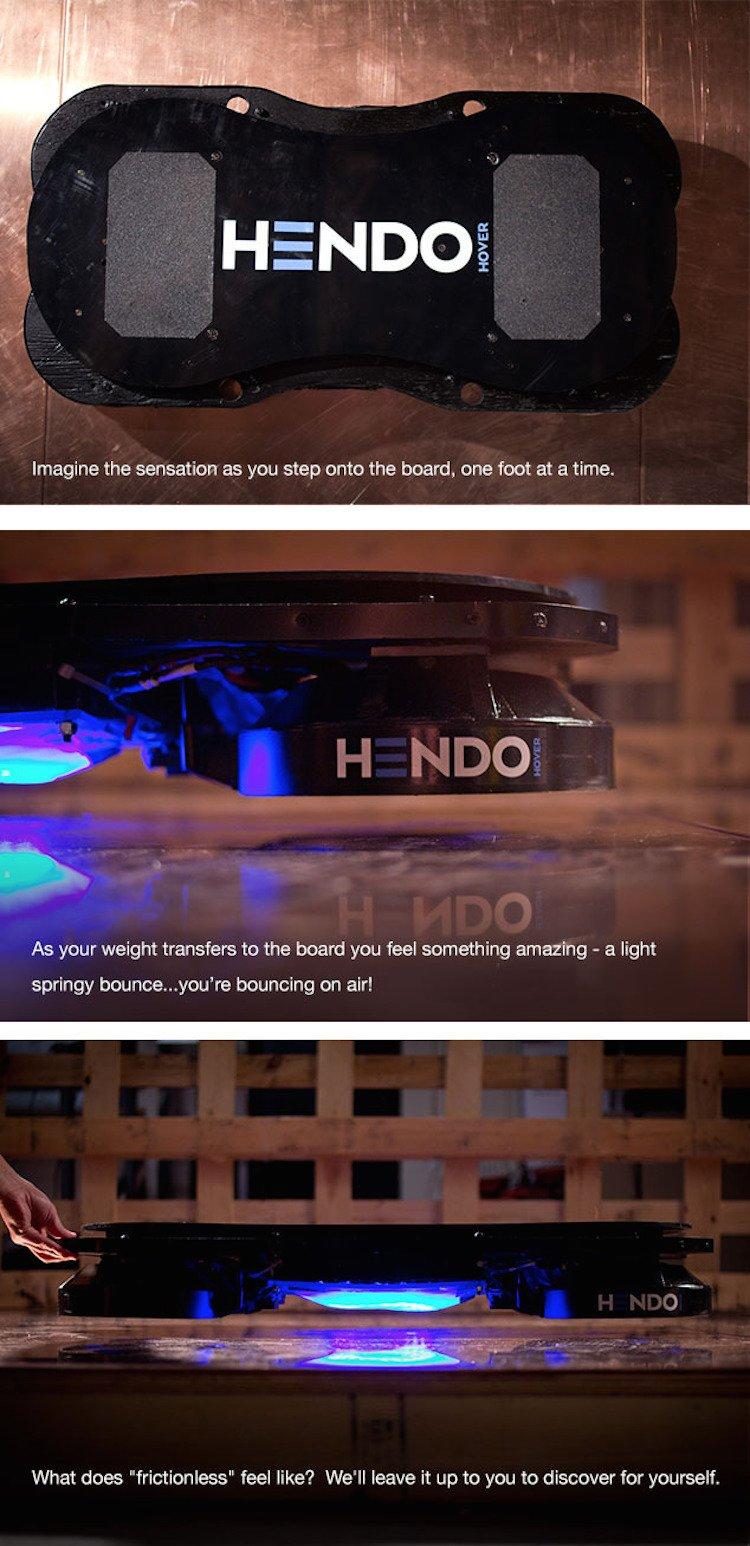 Hendo Kickstarter Page