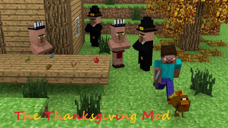 minecraft thanksgiving