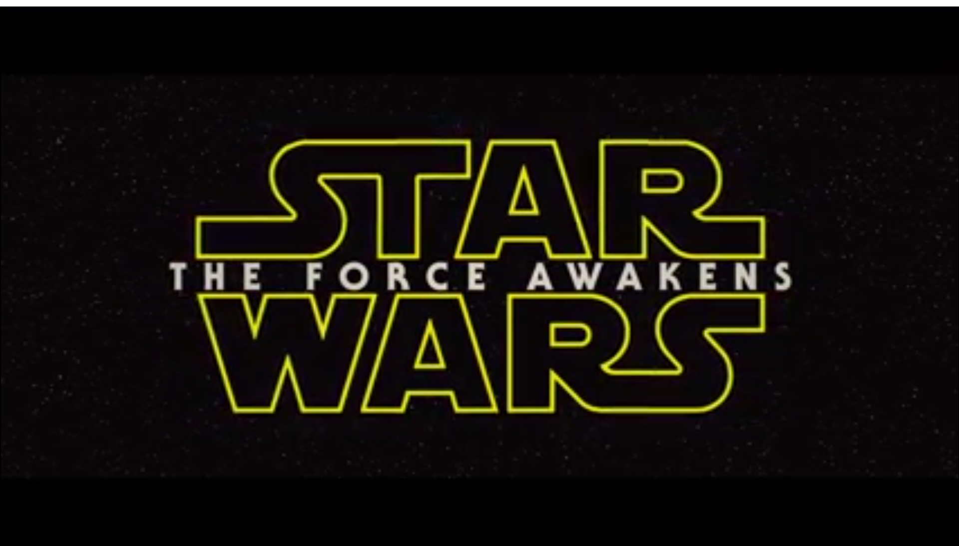 Official Star Wars VII Trailer [Video]