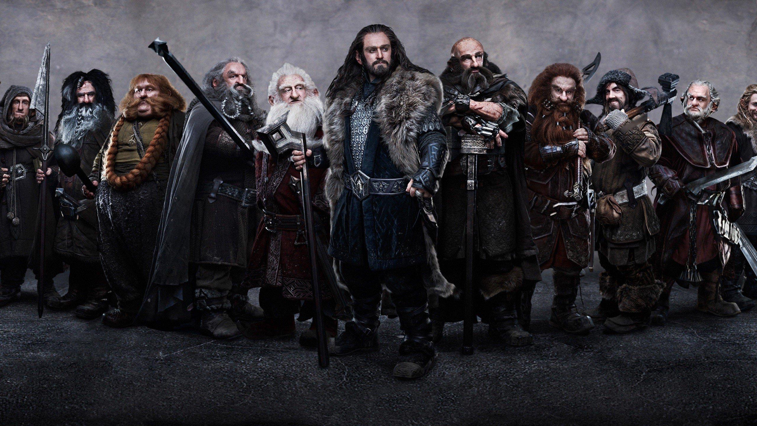 'No Shave November' Hobbit Dwarf Cheat Sheet [Image]
