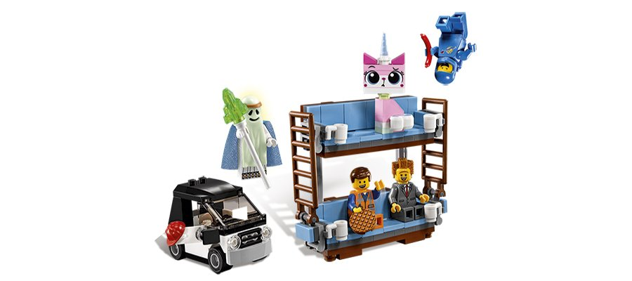 3 Exclusive New 'LEGO Movie' Sets