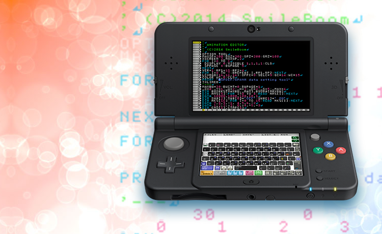SmileBASIC: Learning to Code on Your Nintendo 3DS