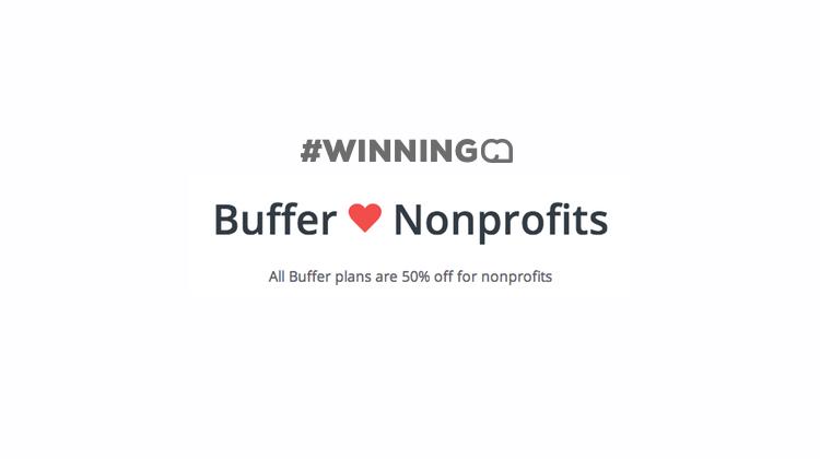 Buffer App for Nonprofits