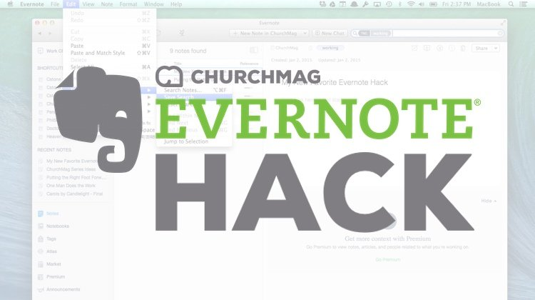 My New Favorite Evernote Hack