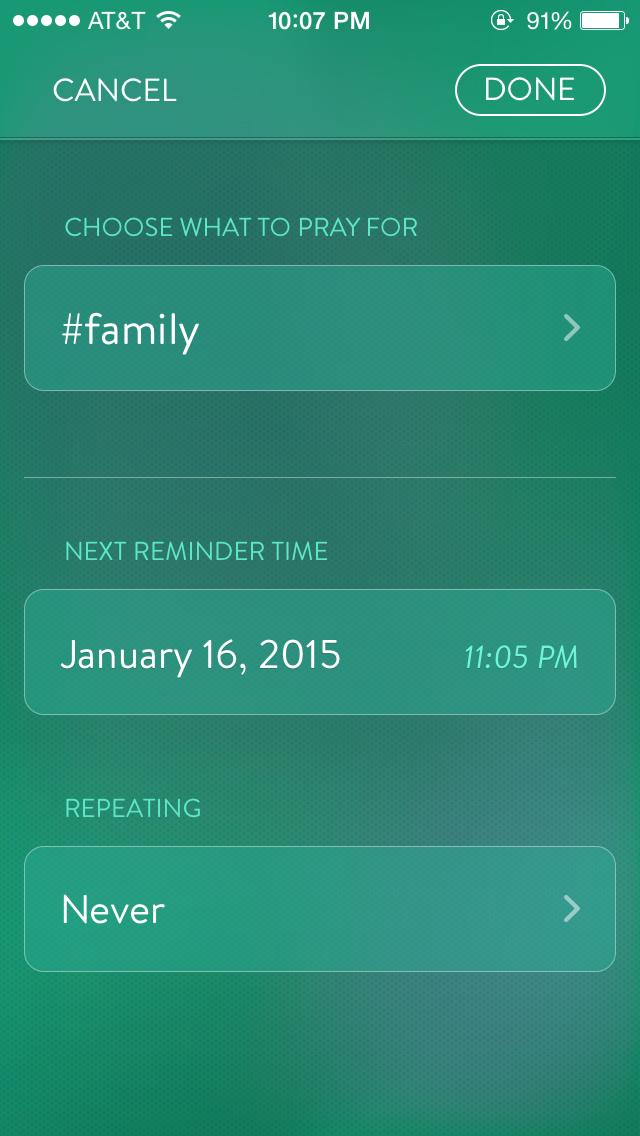 Adding a reminder 2