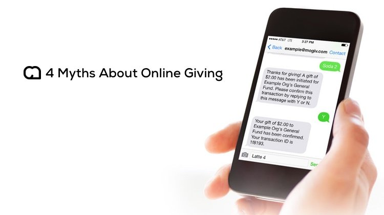 4 Myths About Online Giving