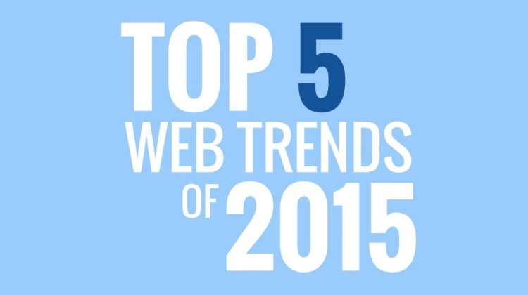 Top 5 Web Trends of 2015 [Infographic]