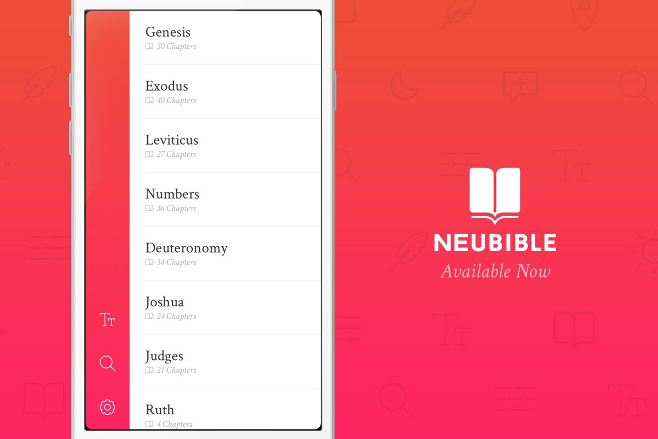 NueBible: A Design Centric iOS Bible App