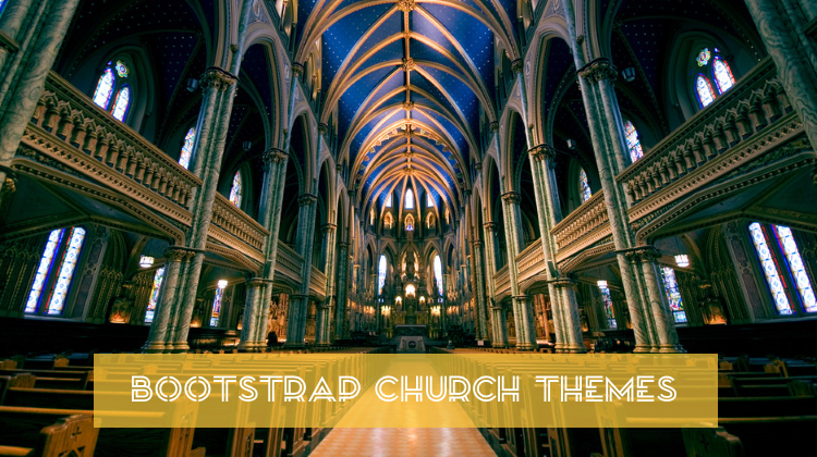 Bootstrap Church Themes