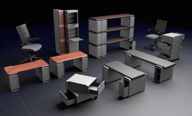 EPIC PowerMac G5 Computer Desk [Images]