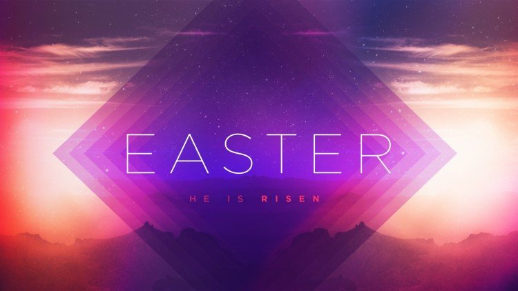 free easter media for church presentation