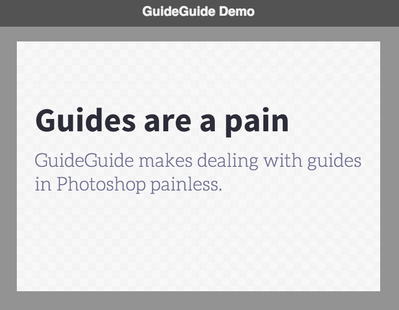Awesome Adobe Plugins: 02 – GuideGuide