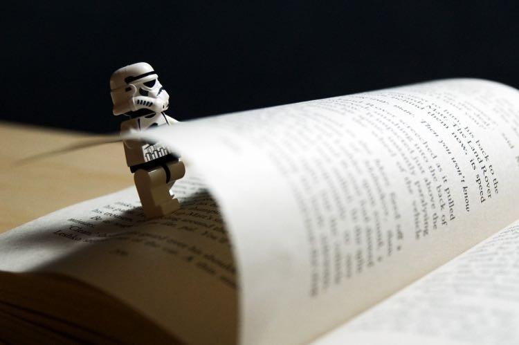 stormtrooper book reading