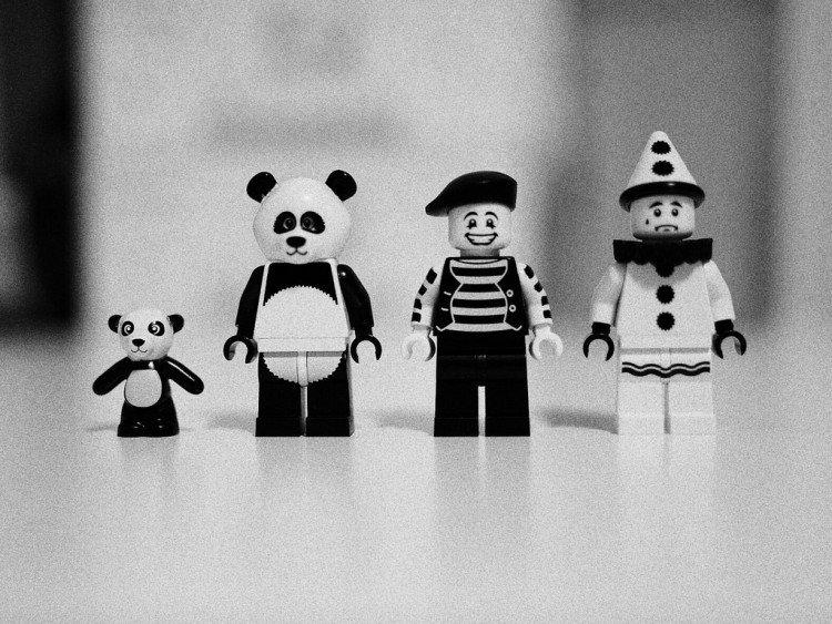 Sad Panda and Clown