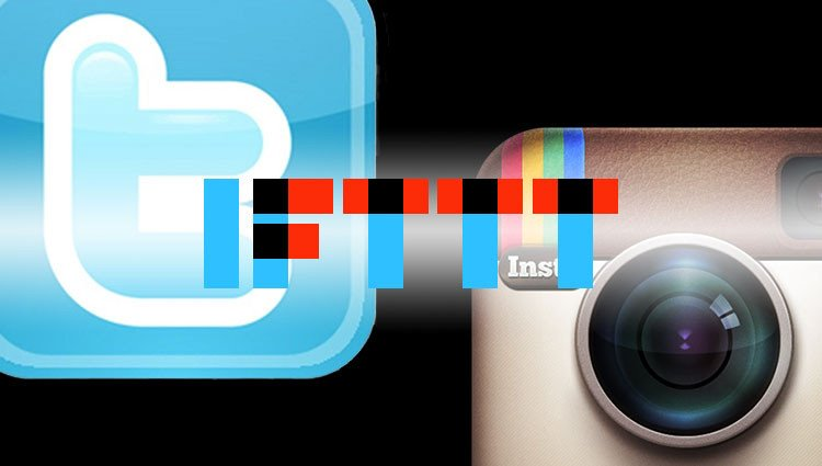 twitter instagram social ifttt