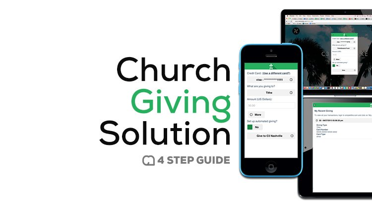 The Surprisingly Simple 4-Step Guide to Rolling Out a Church Giving Solution
