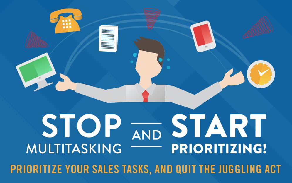 Stop Multitasking and Start Prioritizing [Infographic]