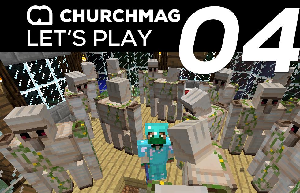 Minecraft: Let's Play #4 – Prank Wars Begin