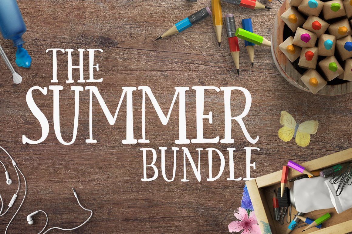 The Hungry JPEG: Summer Bundle