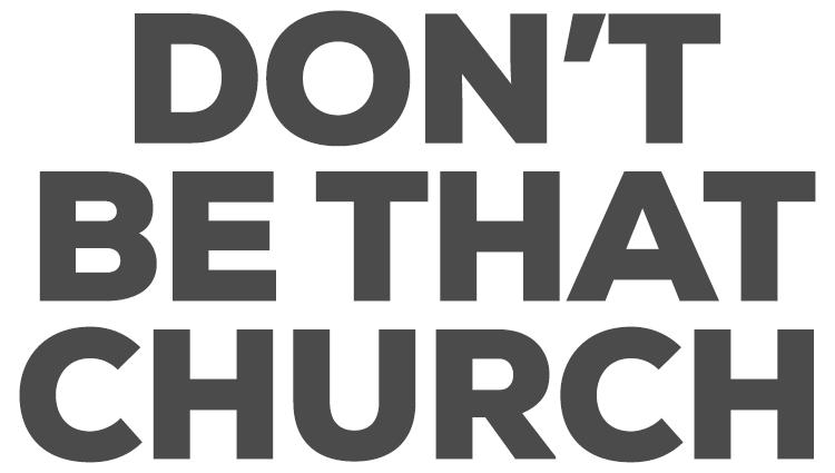 A Word on Church Outreach Etiquette
