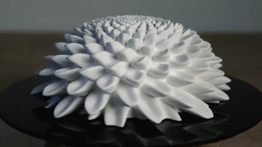 Creative Inspiration: Amazing Spinning Fibonacci Sculptures [Video]