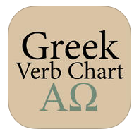 Greek Verb Chart Icon