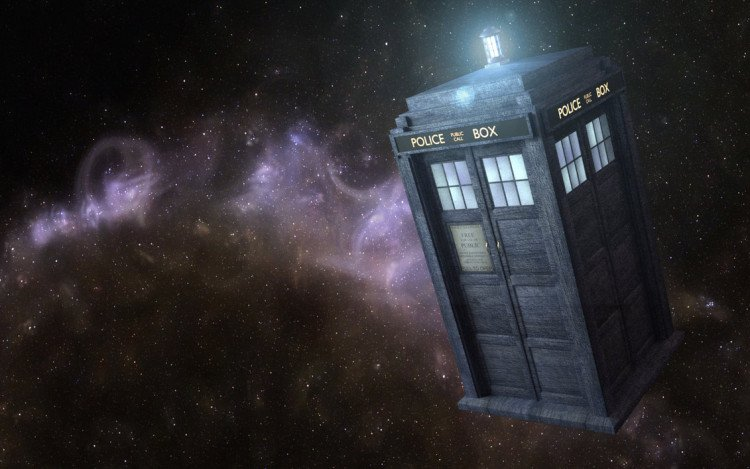 the tardis - image