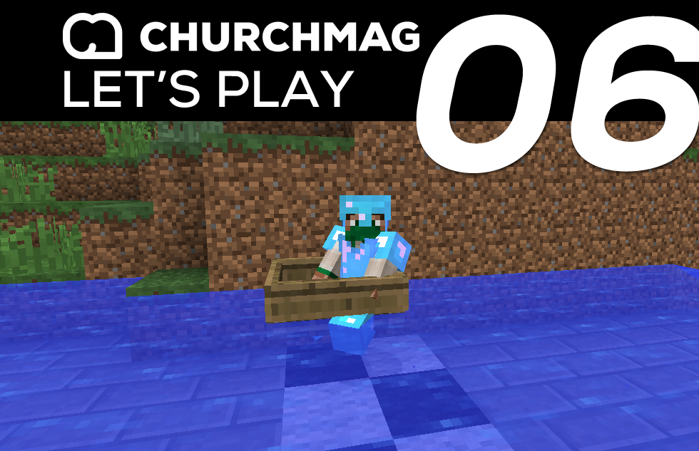 Minecraft: Let's Play #6 – Beginning A Race Track