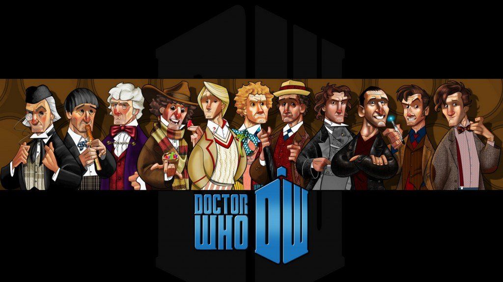 Want A Doctor Who Phone Background? How About 13? [Pictures]
