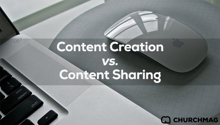 Content Creation vs. Content Sharing [Infographic]