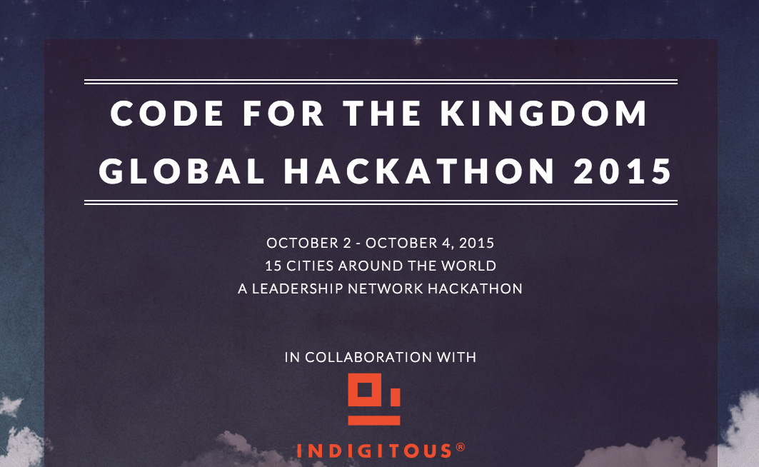 First Global Code for the Kingdom Hackathon